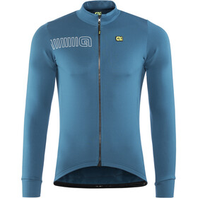 Alé Cycling Solid Color Block Longsleeve Jersey Herre lagoon
